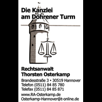 Kanzlei am Döhrener Turm RA Thorsten Osterkamp